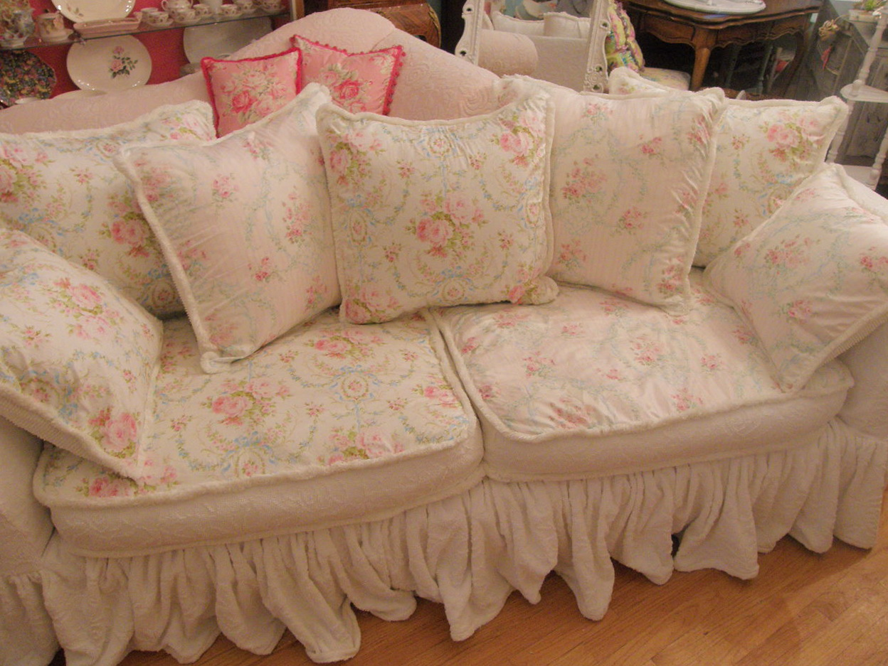 Shabby Chic Sofa Covers