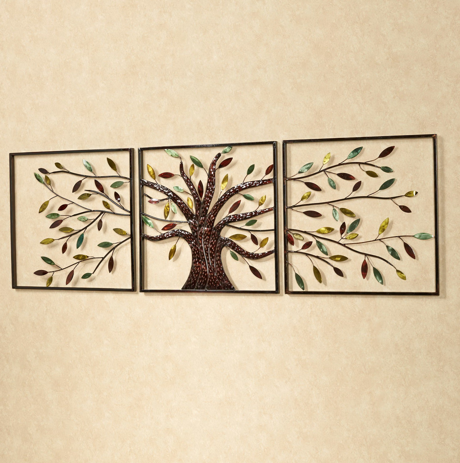 Tree Triptych Wall Art