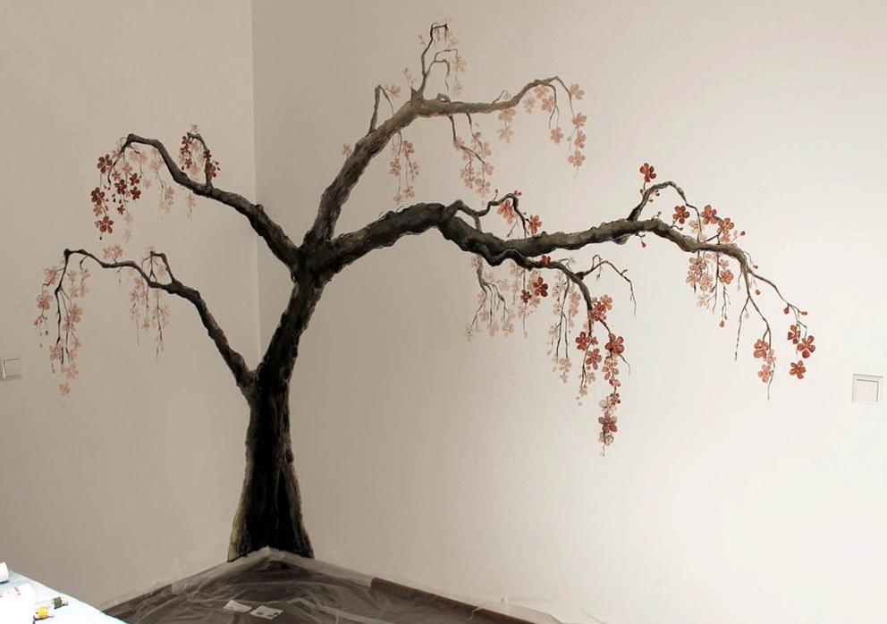 Tree Wall Art Painting