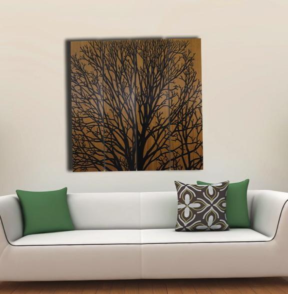 Tree Wall Art Wood