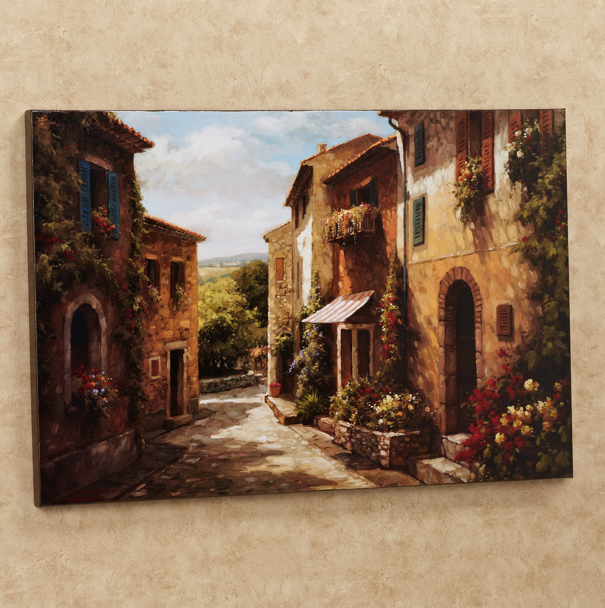 Tuscan Wall Art Canvas