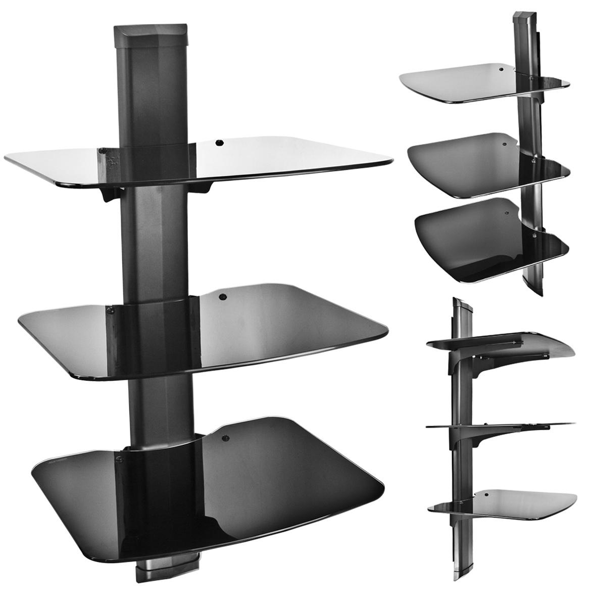 Tv Component Wall Shelf