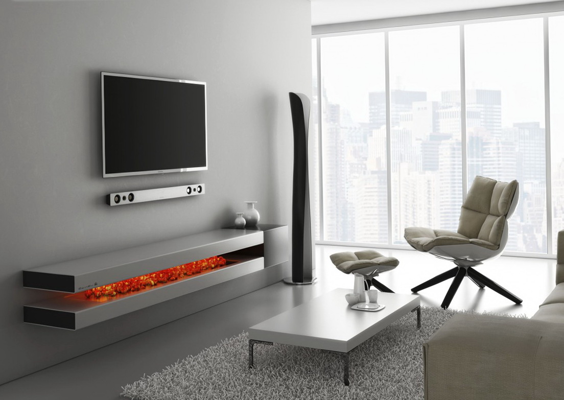 Tv Wall Shelf Design