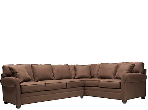 Vegas 2 Pc. Microfiber Sectional Sofa