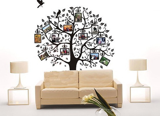 Vinyl Wall Art Family Tree