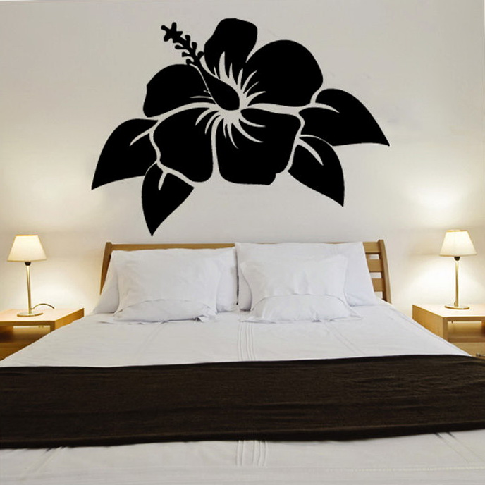 Vinyl Wall Art Flowers