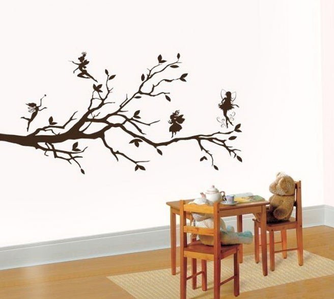 Vinyl Wall Art Tree Branch