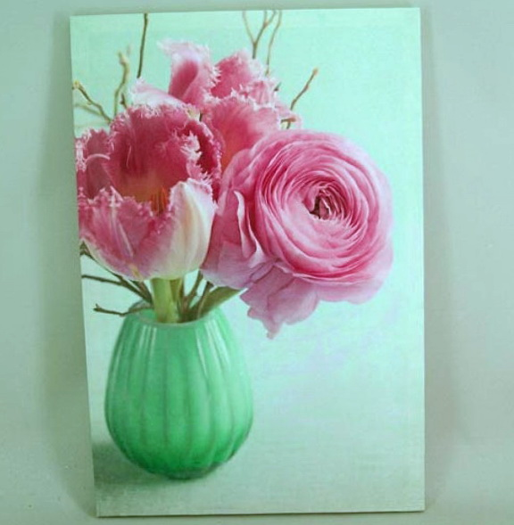 Wall Art Canvas Flower