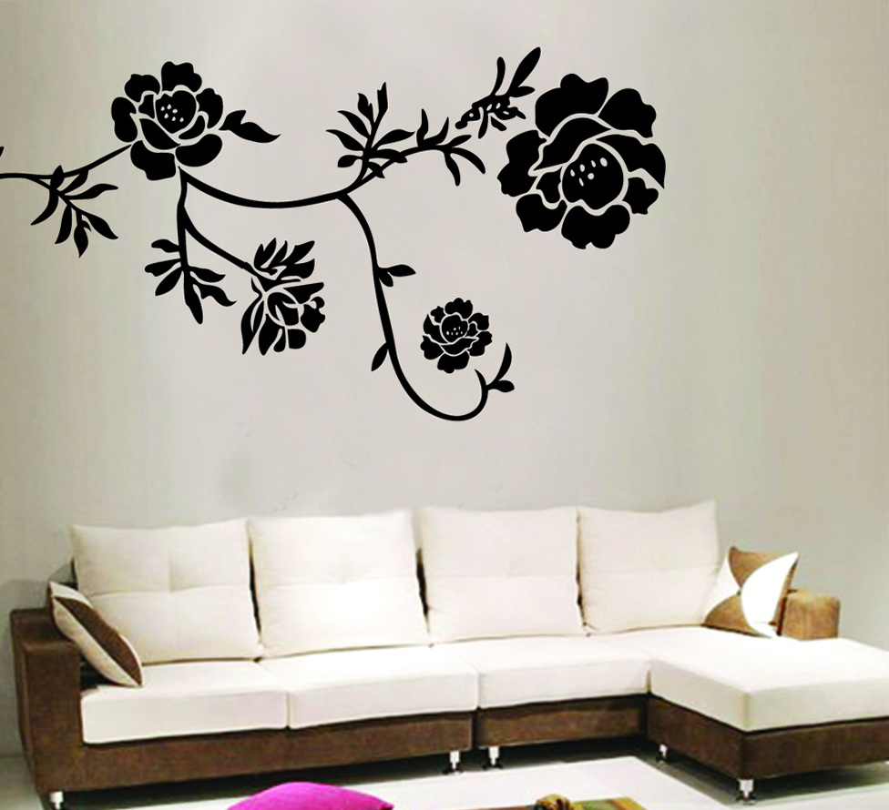 Wall Art Stickers Black