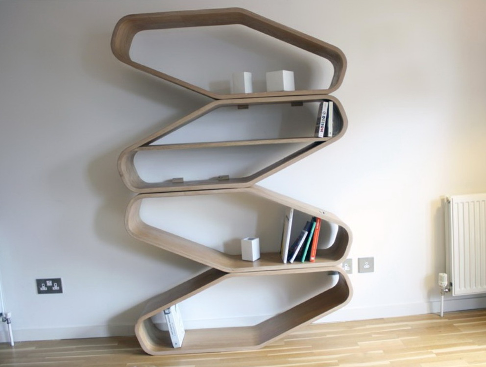 Wall Bookshelf Designs