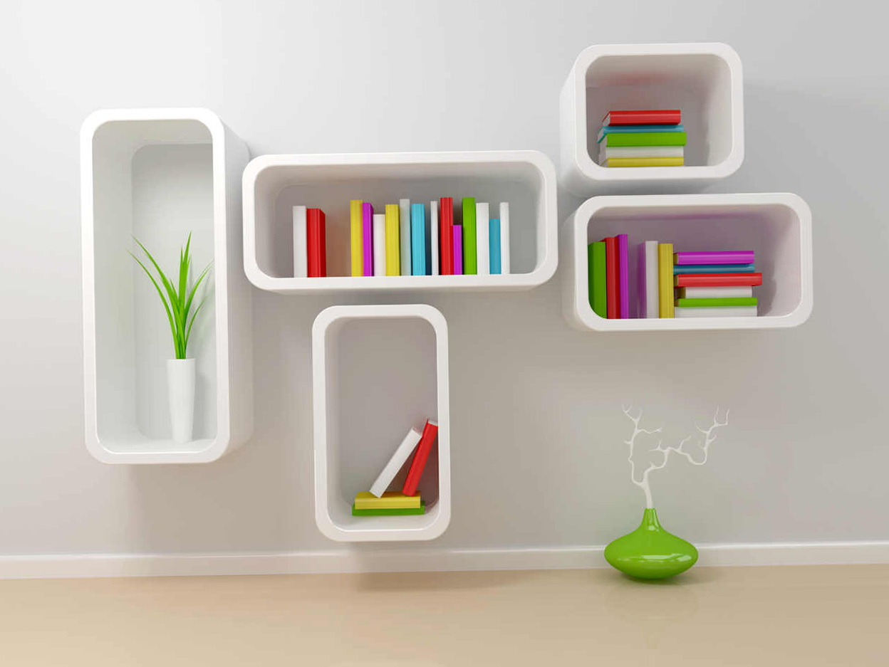 Wall Mounted Bookshelf India