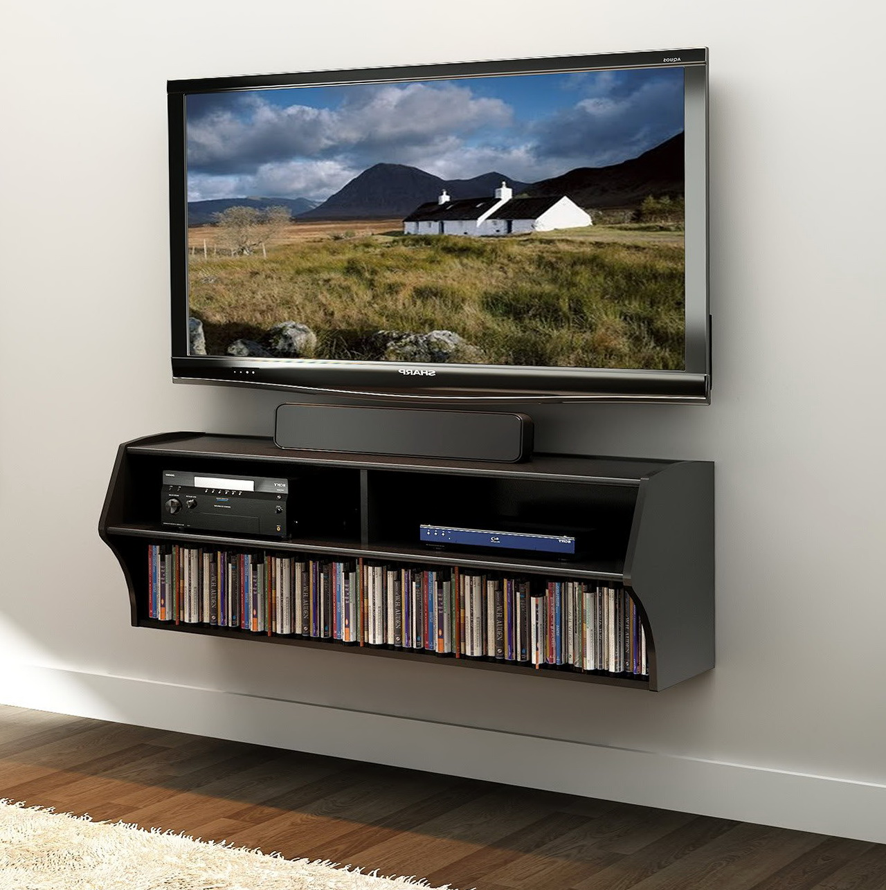 Wall Shelf For Tv Box