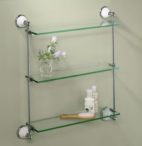 Wall Shelf Ideas For Bathroom