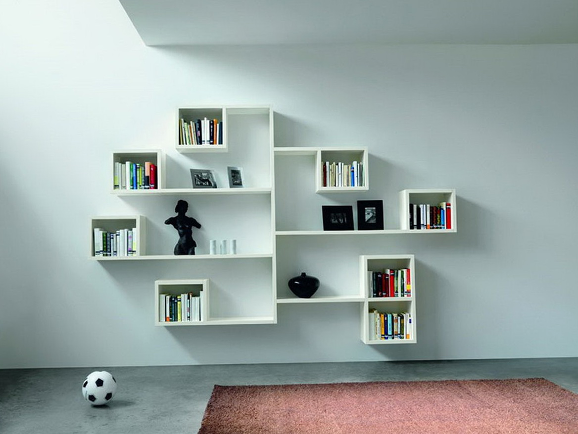 Wall Shelf Ideas For Bedroom