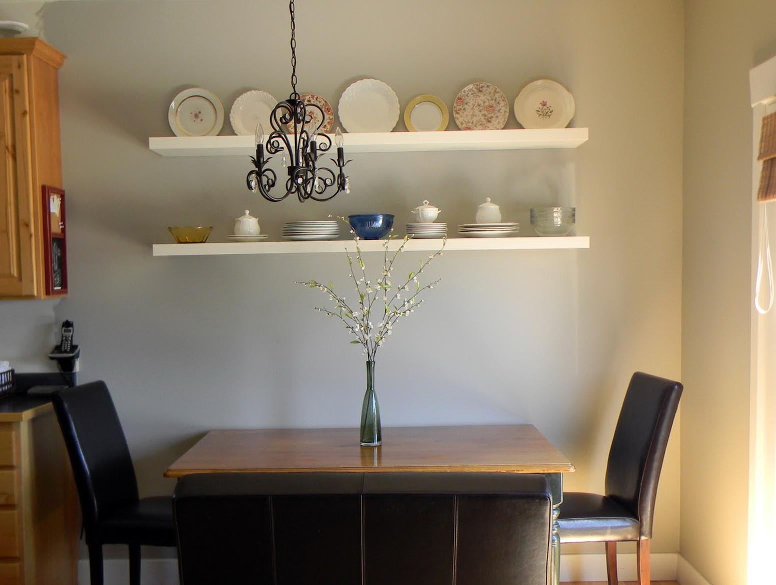 Wall Shelf Ideas For Dining Room