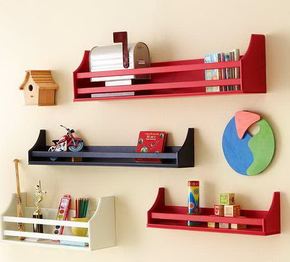 Wall Shelf Ideas For Kids Room