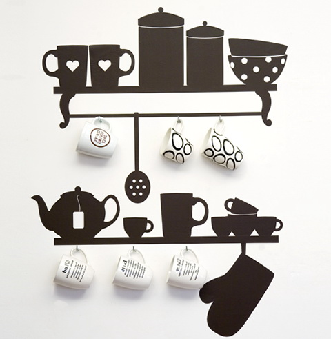 Wall Sticker Art For Kitchen