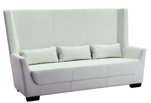 White High Back Sofa