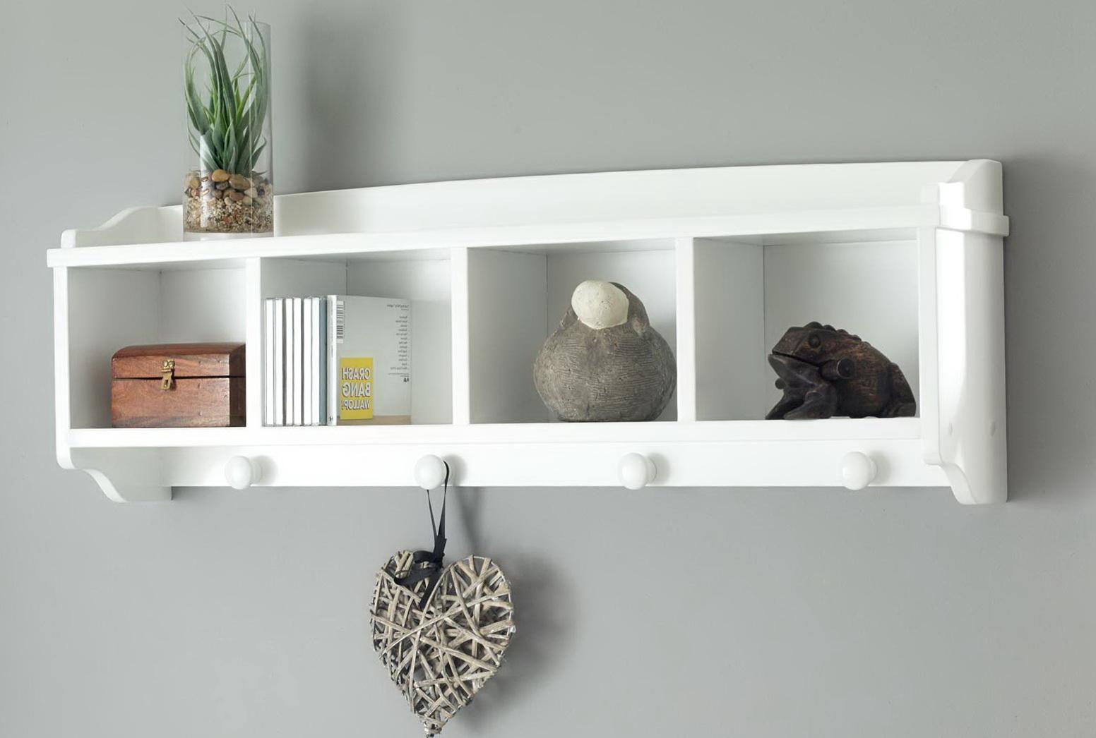 White Wall Shelf For Nursery