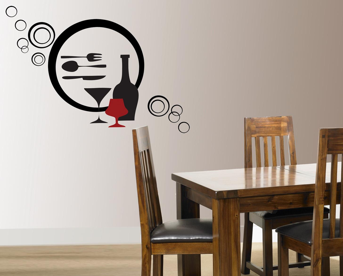 Wine Wall Art Stickers