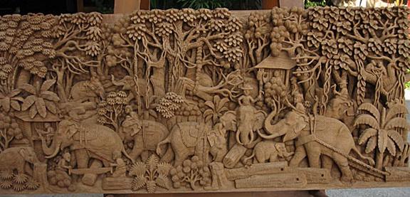 Wood Wall Art Carvings