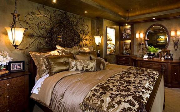 Wrought Iron Wall Art Bedroom