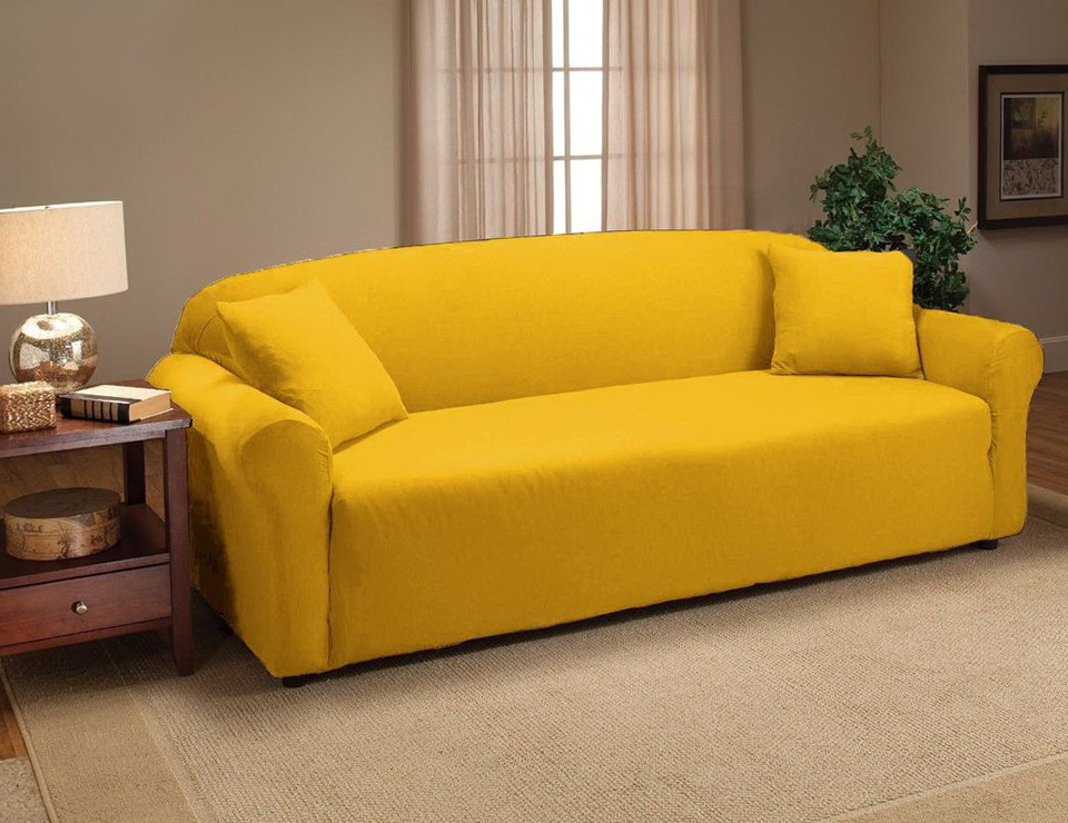 Yellow Sofas And Loveseats