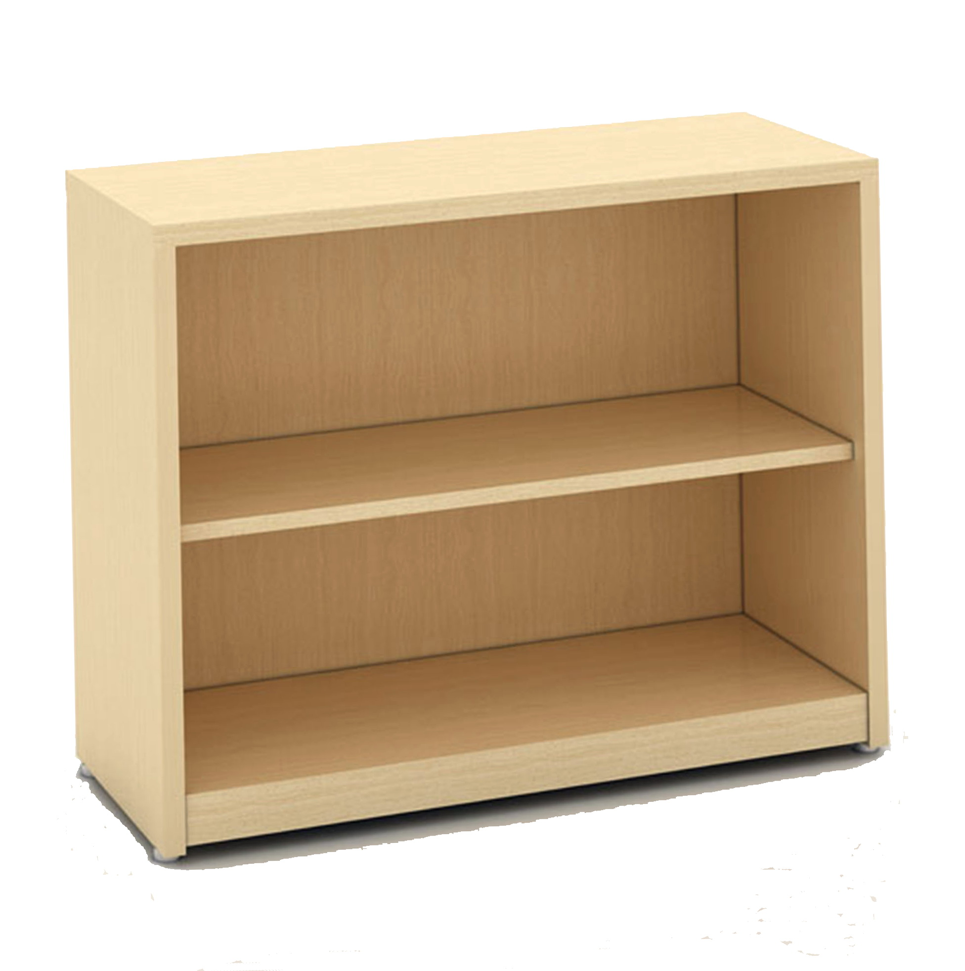 2 Shelf Bookcase Maple