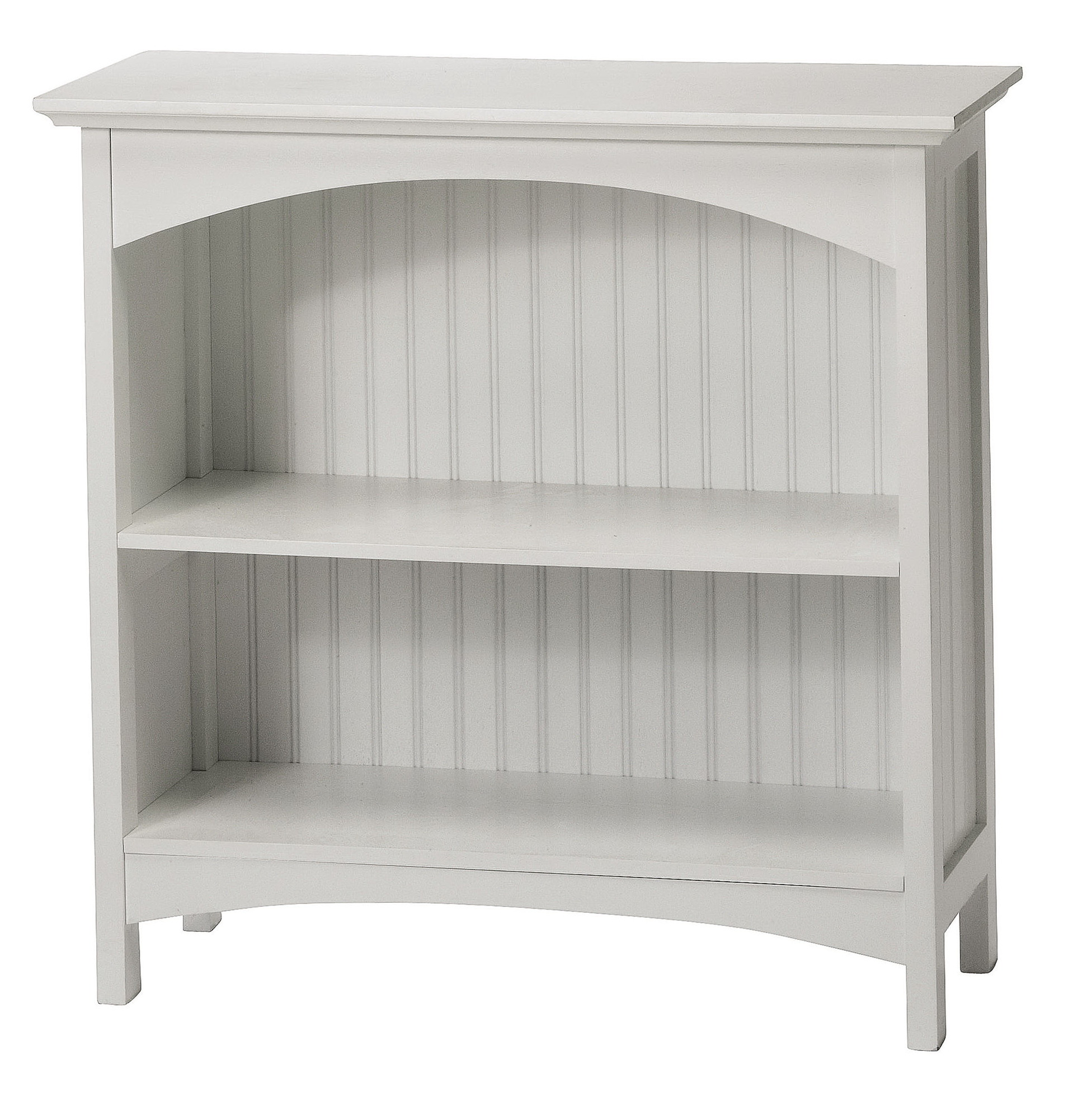2 Shelf Bookcase White