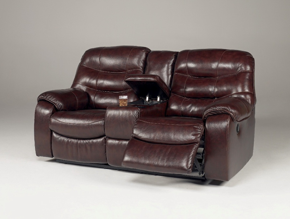 Ashley Double Reclining Loveseat With Console
