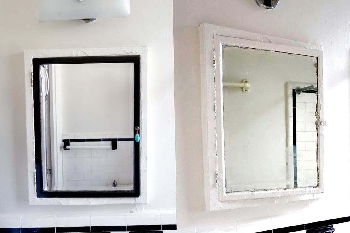 Bathroom Medicine Cabinet Makeover