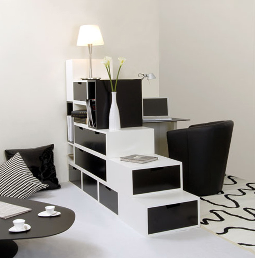 Black And White Modern Dresser