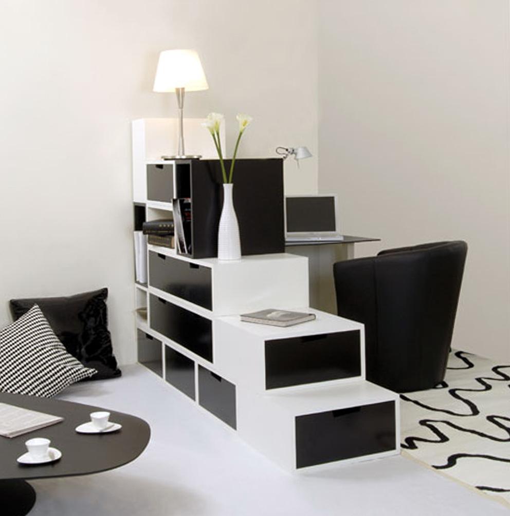 Black And White Modern Dresser