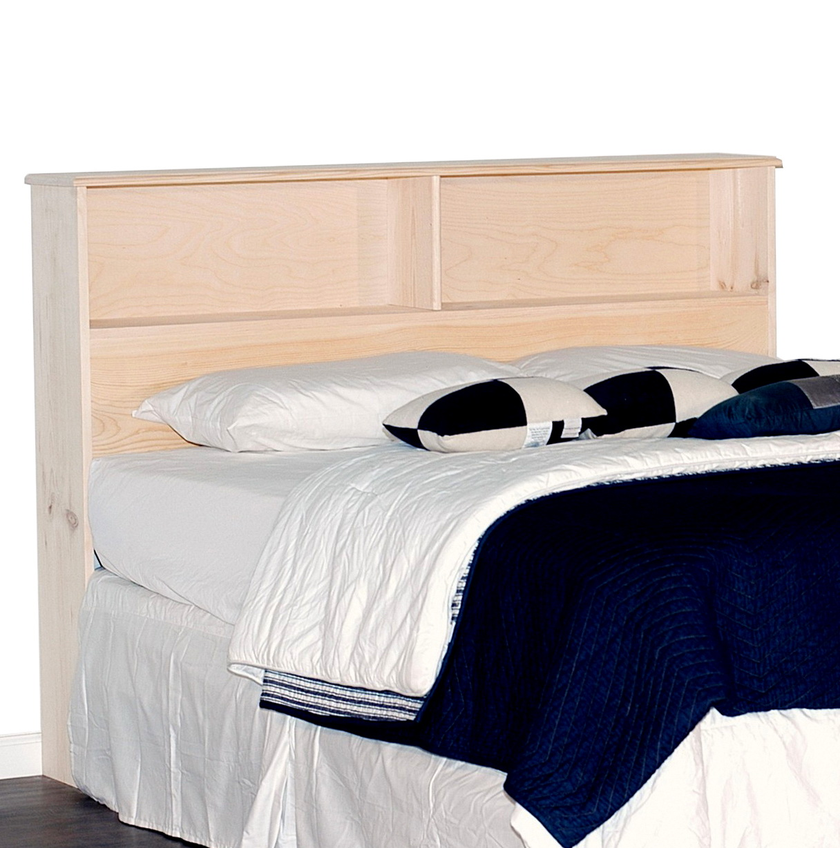 Bookcase Headboard King Size Bed