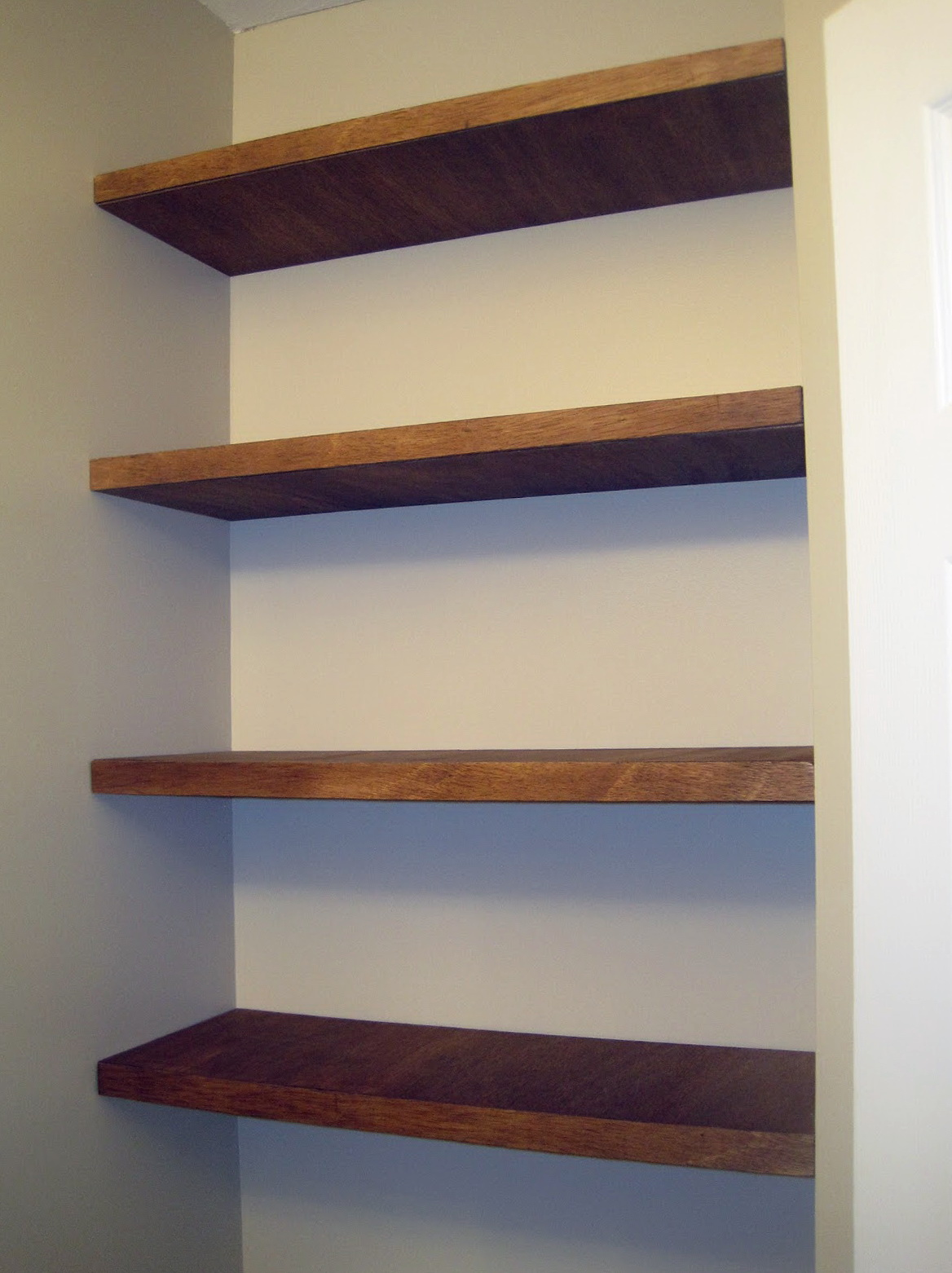 Cheap Wall Shelves Diy