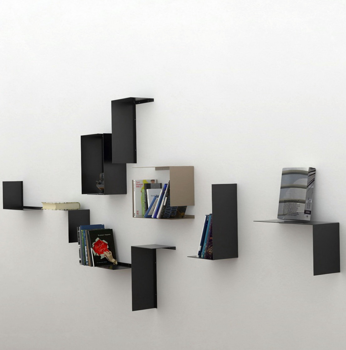 Contemporary Wall Shelves Design