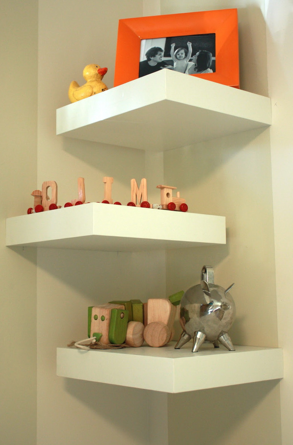 Corner Wall Shelves Sectional