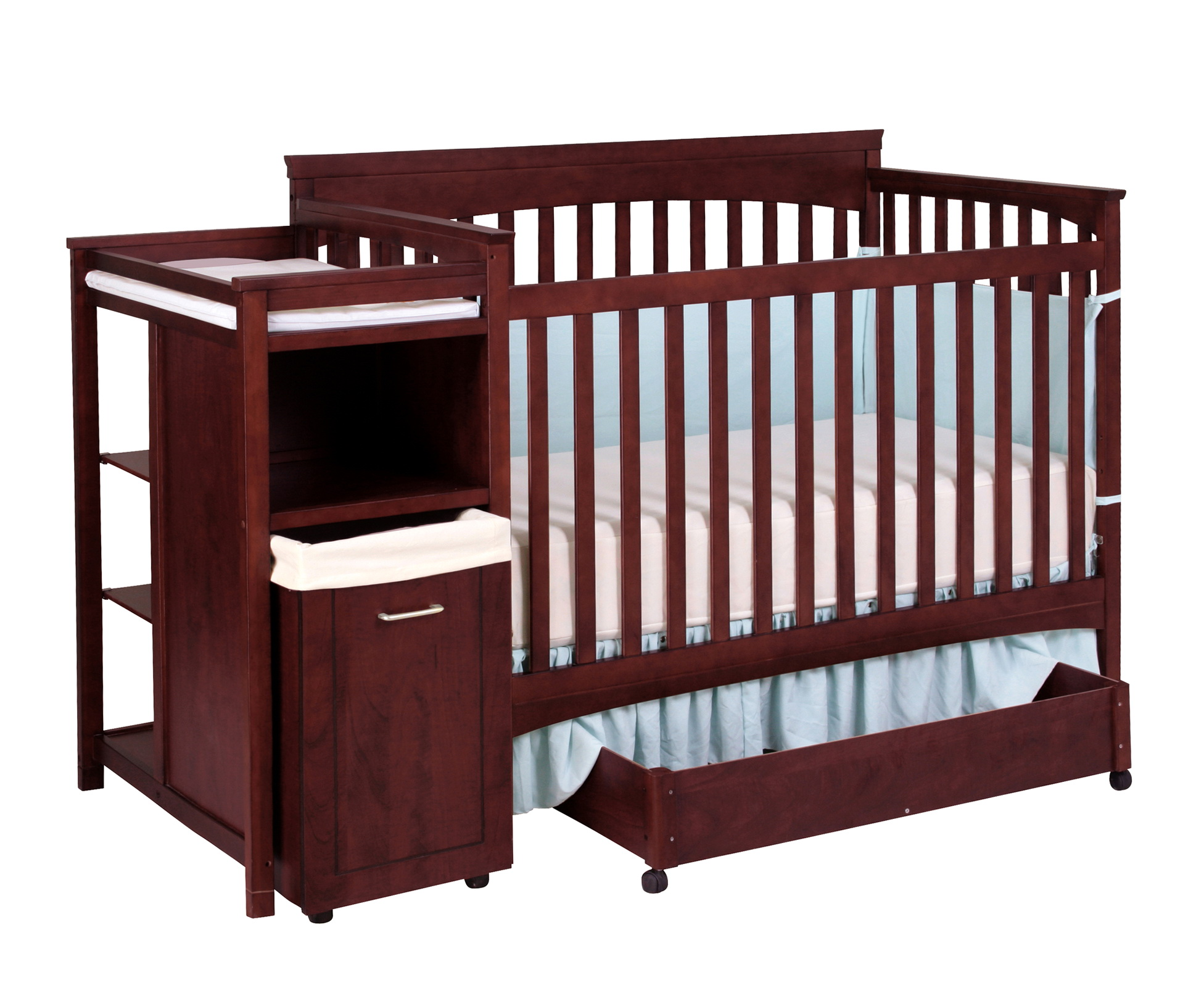 Crib Changing Table Dresser Combo