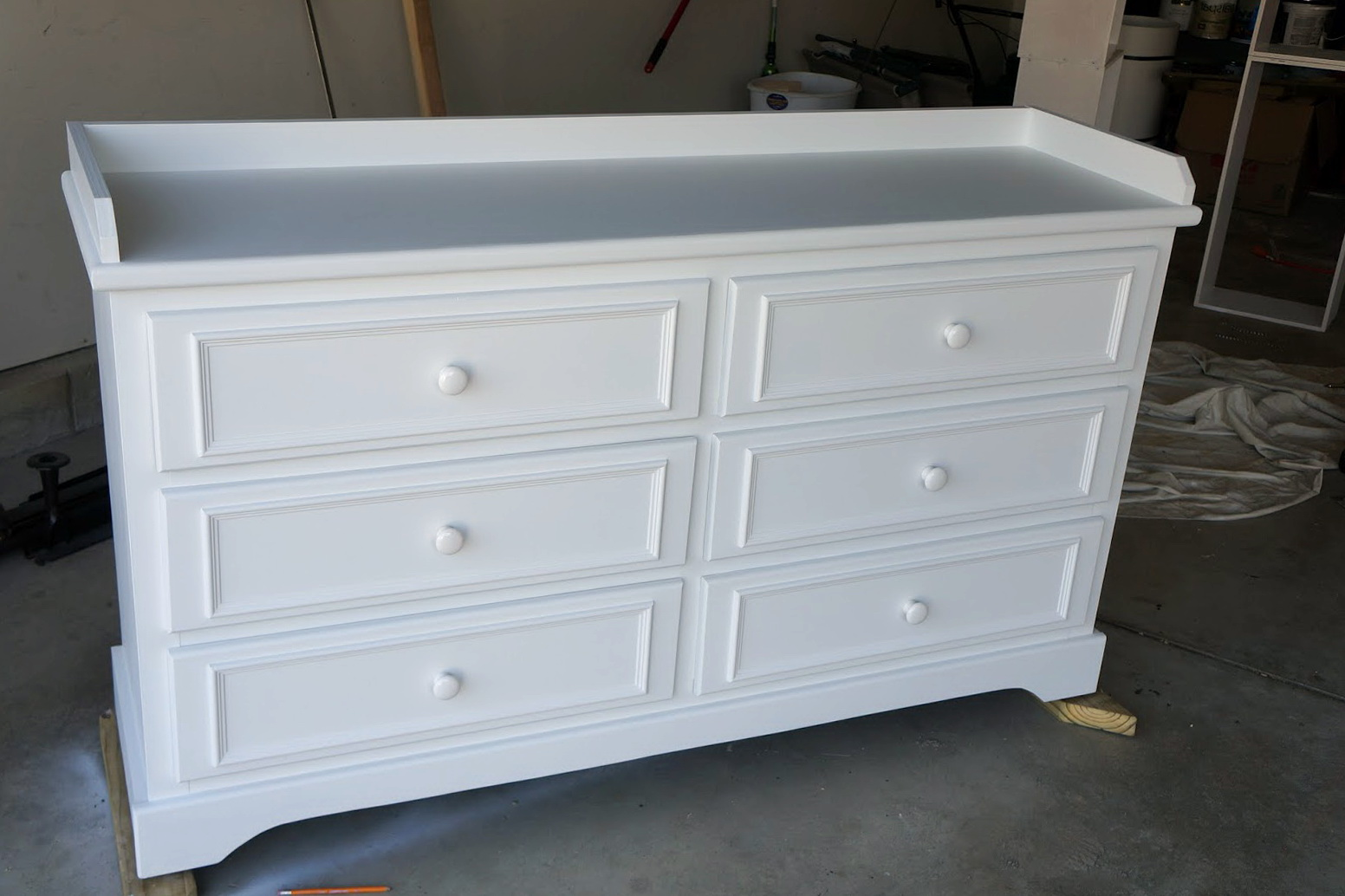 Diy Dresser Changing Table