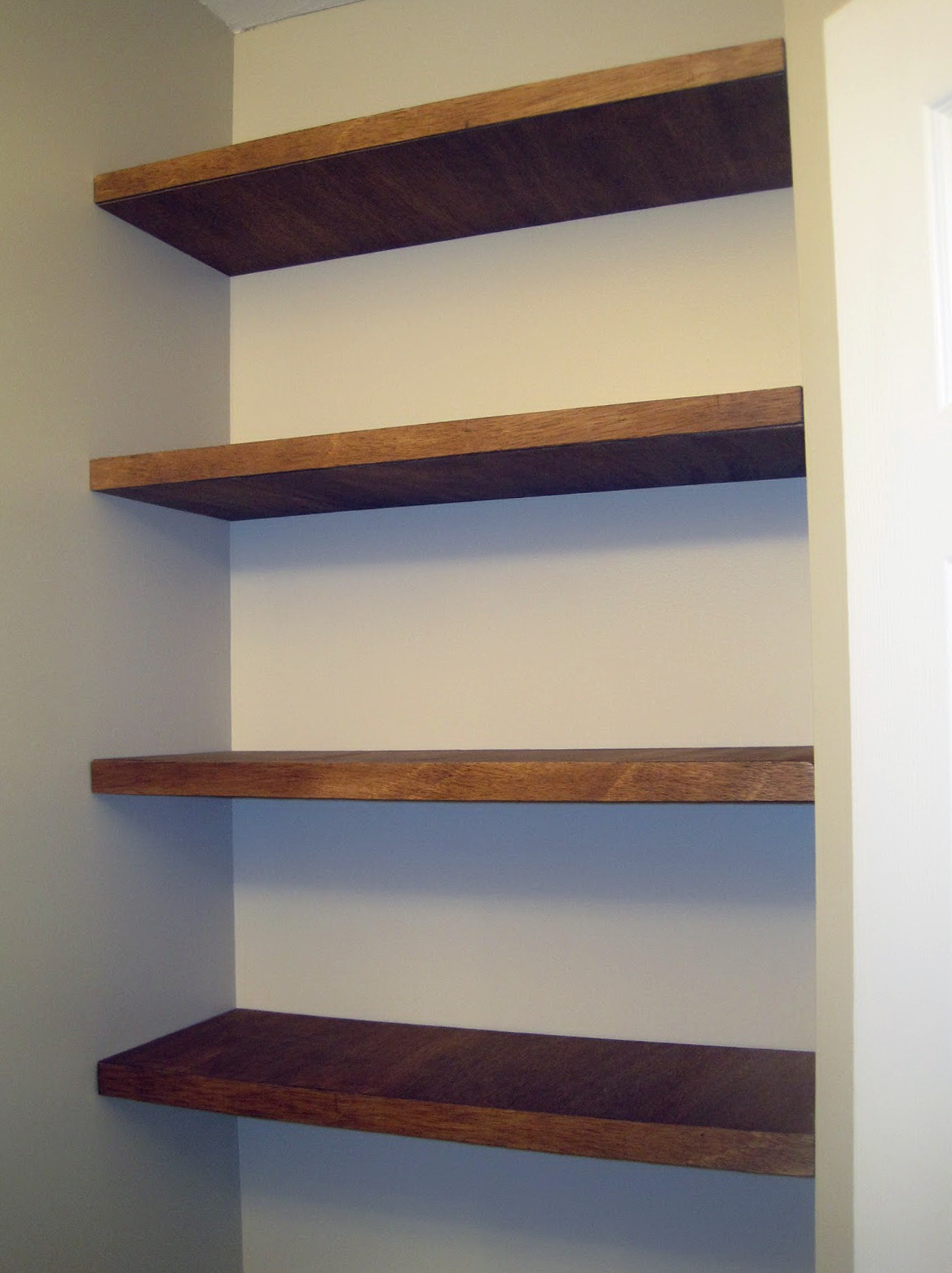 Diy Wood Wall Shelves