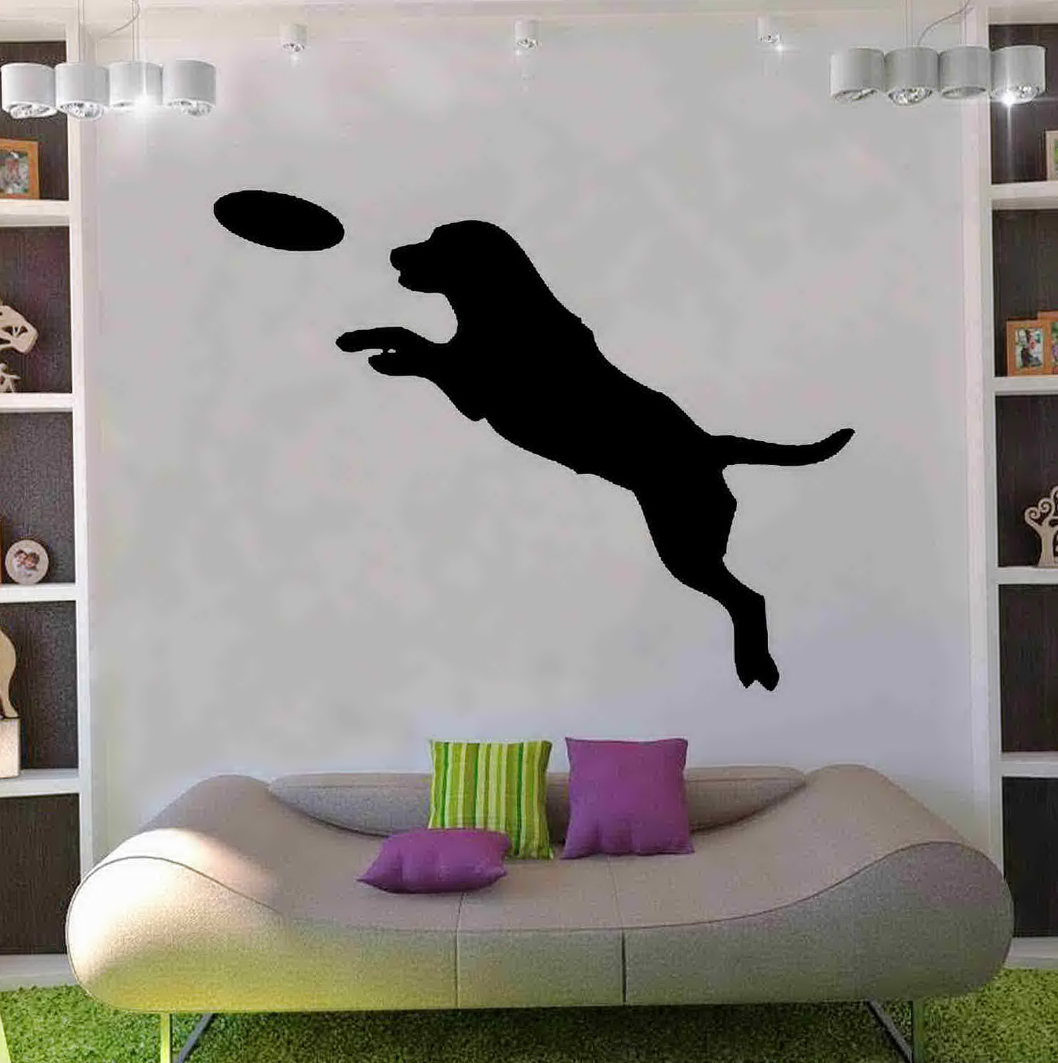 Dog Wall Art Stickers