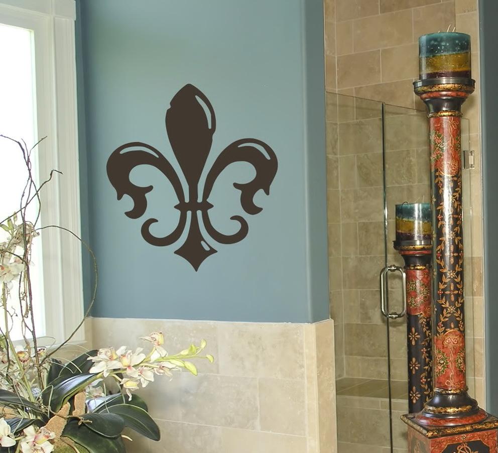 Fleur De Lis Home Decor Wall Art