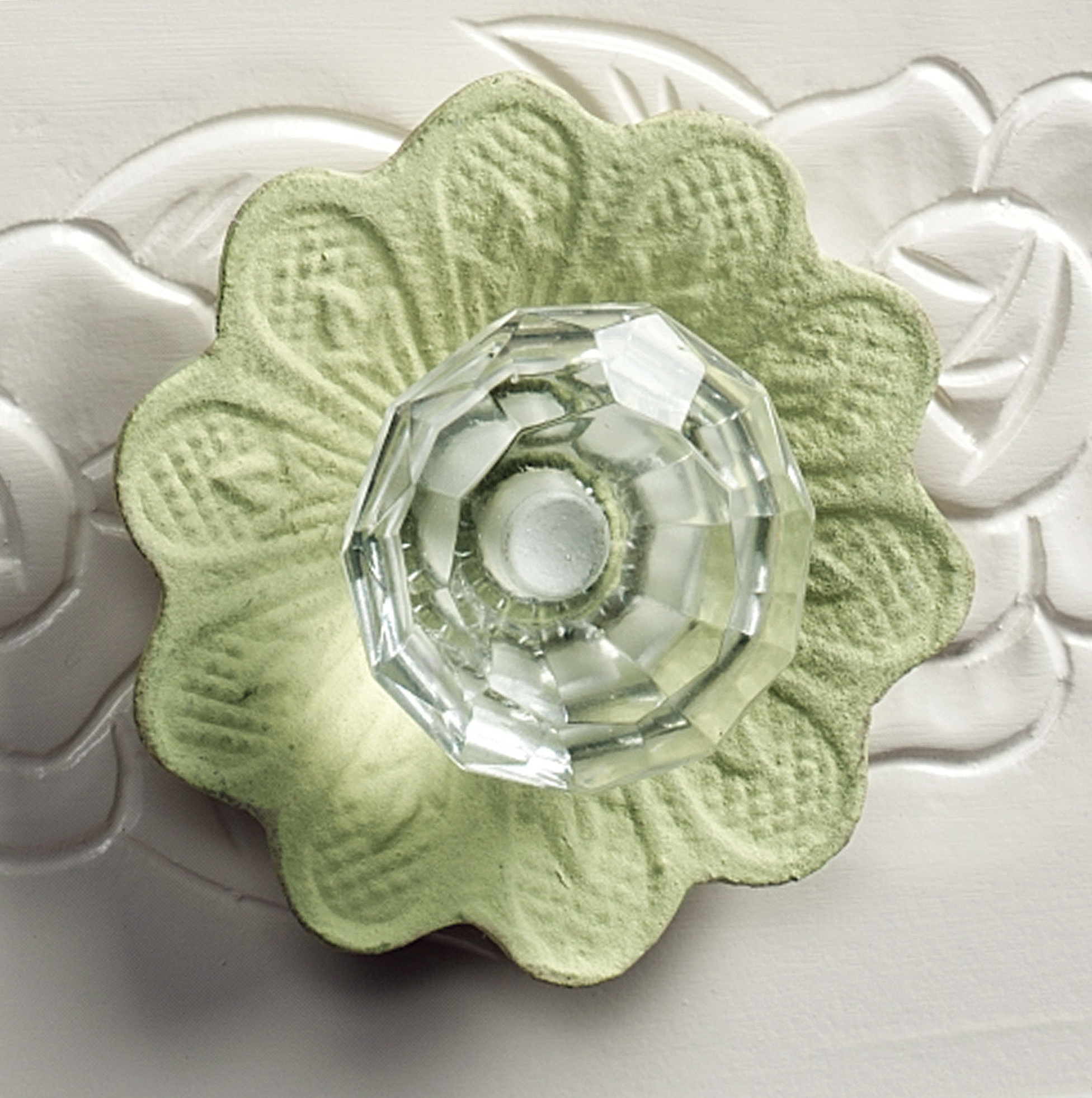 Flower Dresser Drawer Knobs