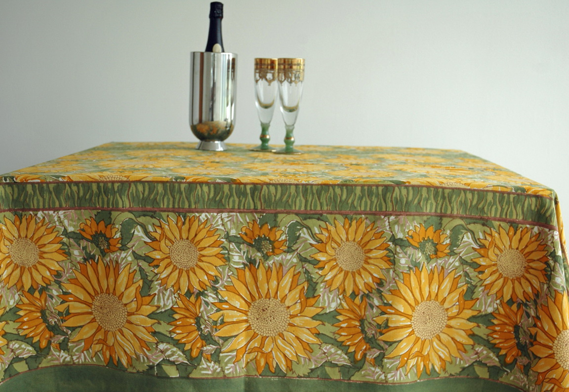 French Table Linens From Provence
