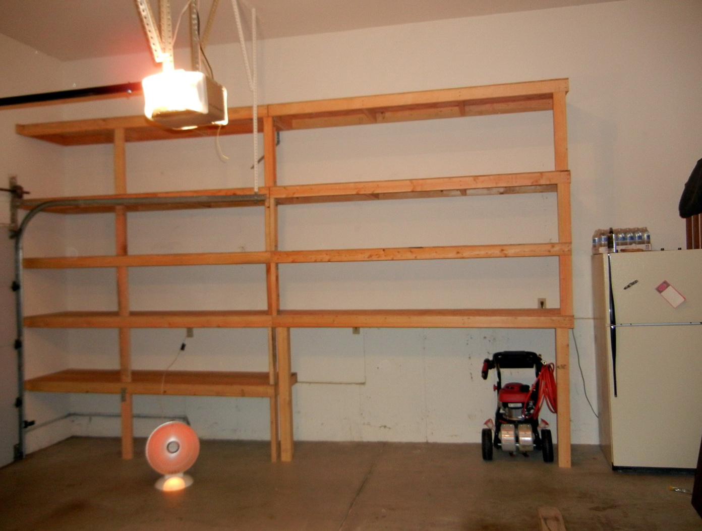 Garage Wall Shelving Plans