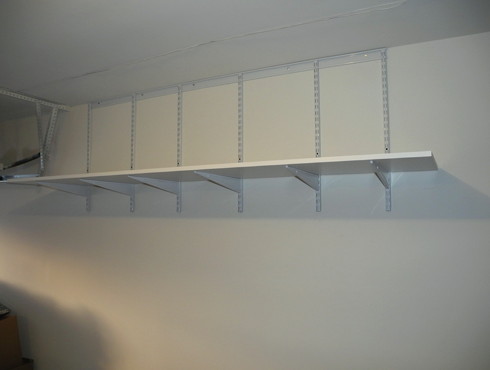 Garage Wall Shelving Systems