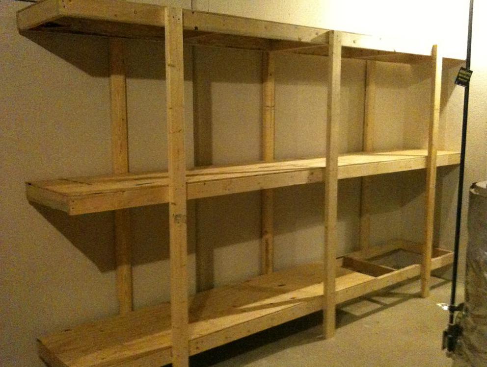 Garage Wall Shelving Units