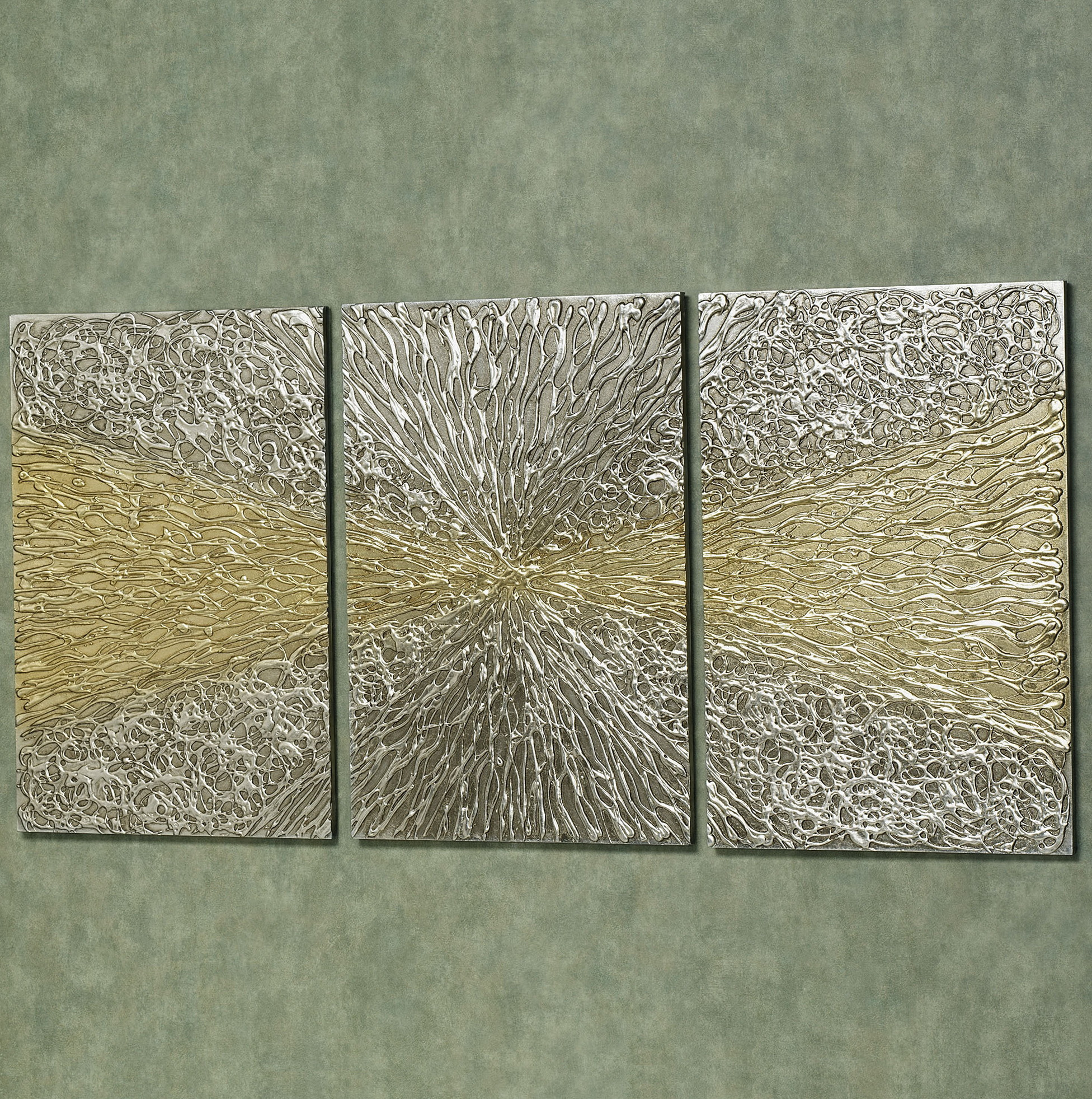 Gold And Silver Wall Art