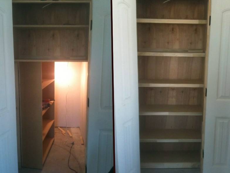 How To Build Hidden Bookcase Door