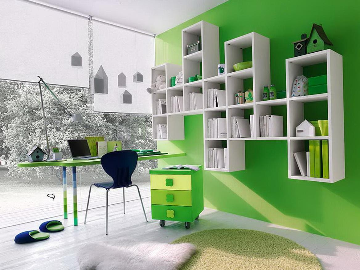 Kids Bedroom Wall Shelves